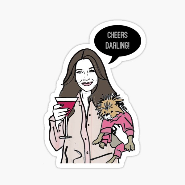 Cheers Darling Sticker