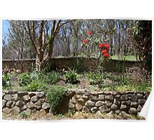 Elkana garden, Marysville Poster