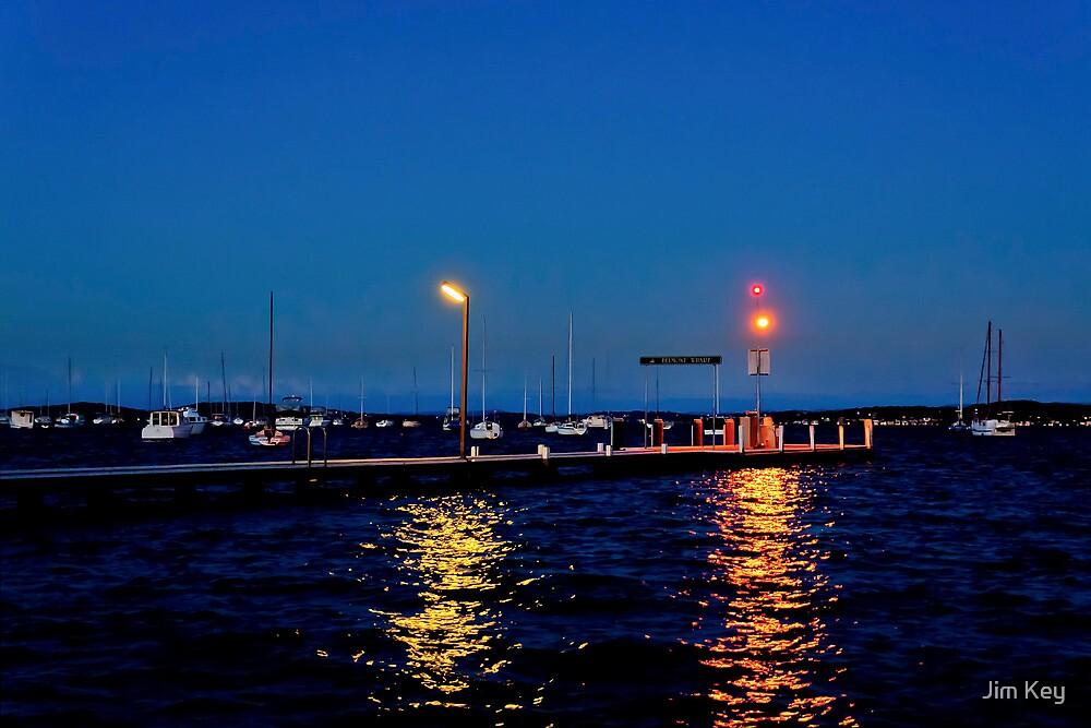 Belmont Wharf at Night NSW   HDR  by Jim Key