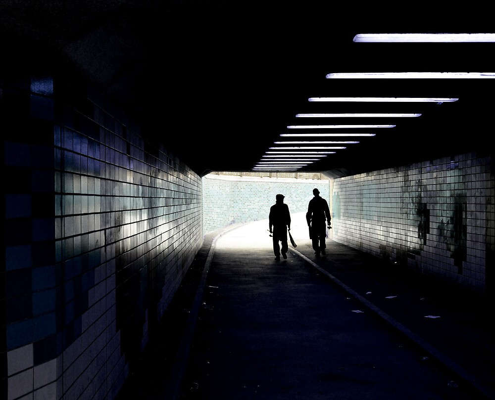 Light at the end. by Anthony Burke