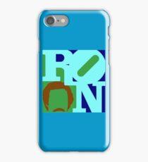 Ron Love (b) iPhone Case/Skin