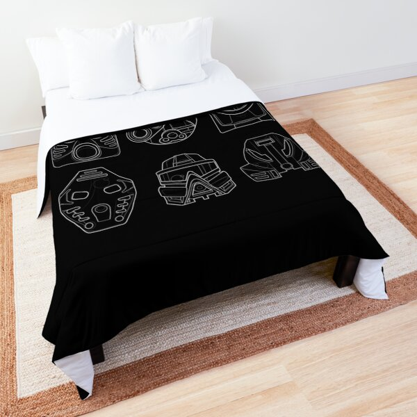 Bionicle Toa Mata Masks - White Comforter