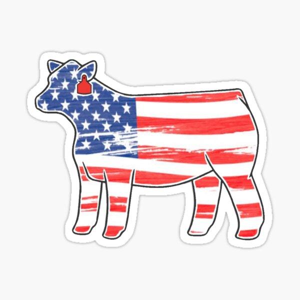 American Heifer Sticker