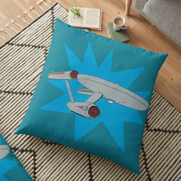 NCC 1701. Floor Pillow