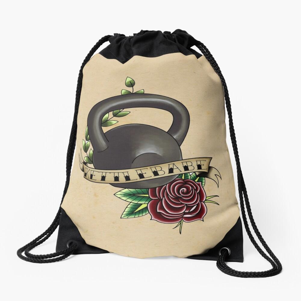 Kettlebabe. Drawstring Bag