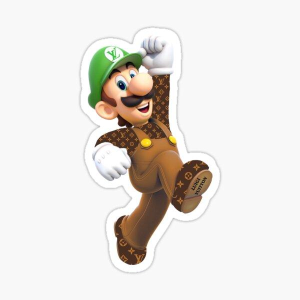 luigi Sticker