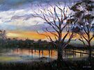 Sunrise Laverton Creek by Karin Zeller