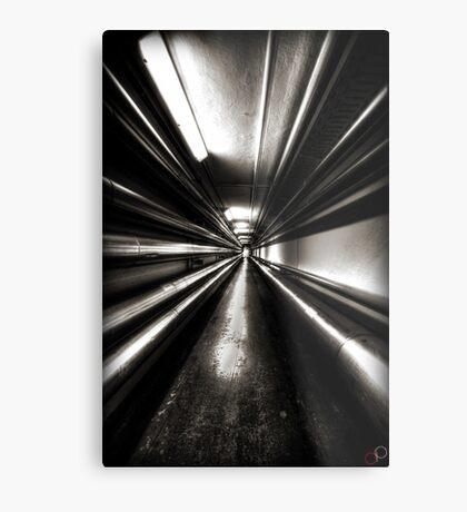 Brewery Tunnel Metal Print