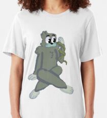 We Bare Bears: Charlie and the Snake Slim Fit T-Shirt