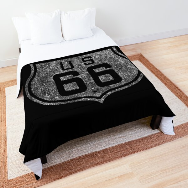 Route 66 Vintage Comforter