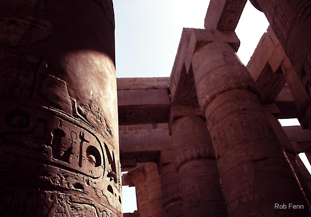The Pillars of Karnak by Rob Fenn