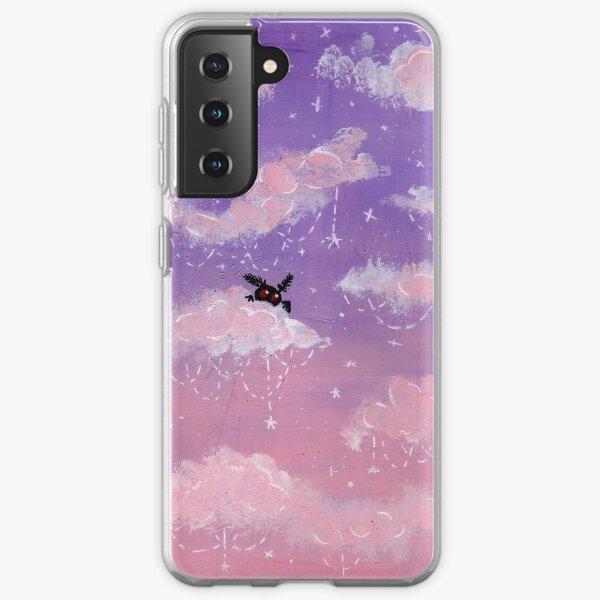 Pastel mothman sky  Samsung Galaxy Soft Case