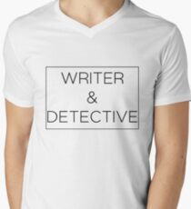 Writer & Detective Men's V-Neck T-Shirt
