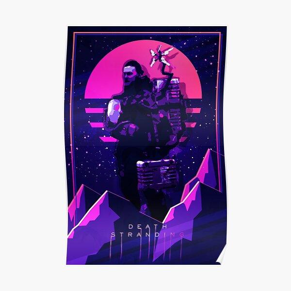 NOUVEAU Death Stranding 80s Poster