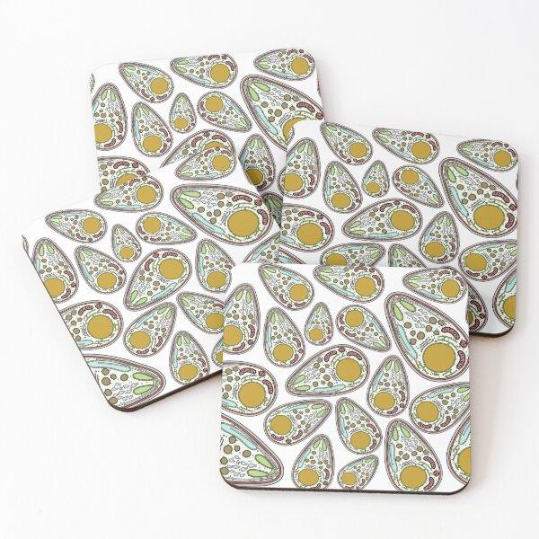 Malaria Parasite Print Coasters (Set of 4)