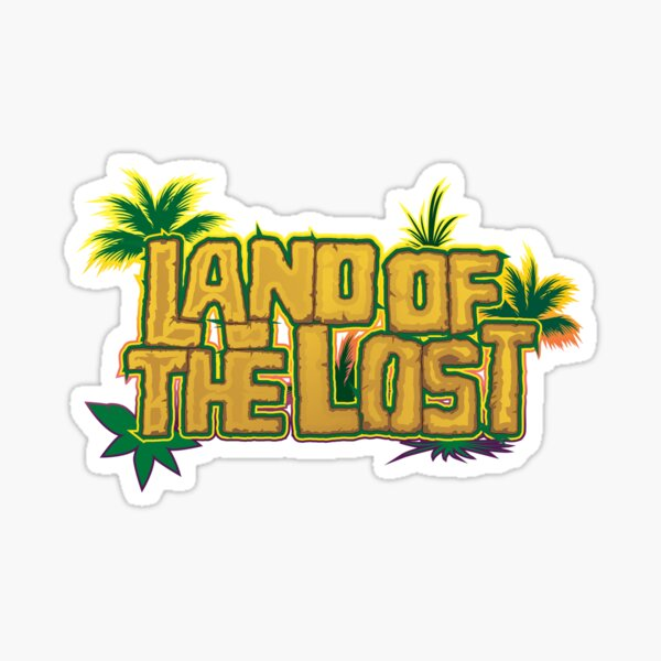 Land of the Lost Jungle Logo Sticker