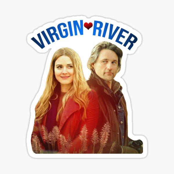 Virgin River Show Poster Sticker