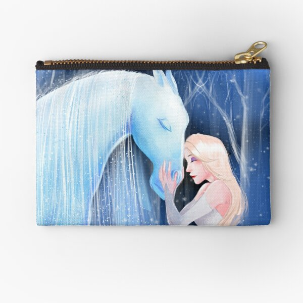 Ice horse Zipper Pouch