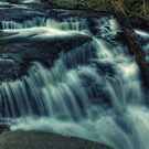 Below Delaware Falls May 2011 by Aaron Campbell