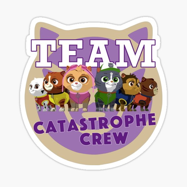 Paw Patrol Team Catastrophe Crew Sticker