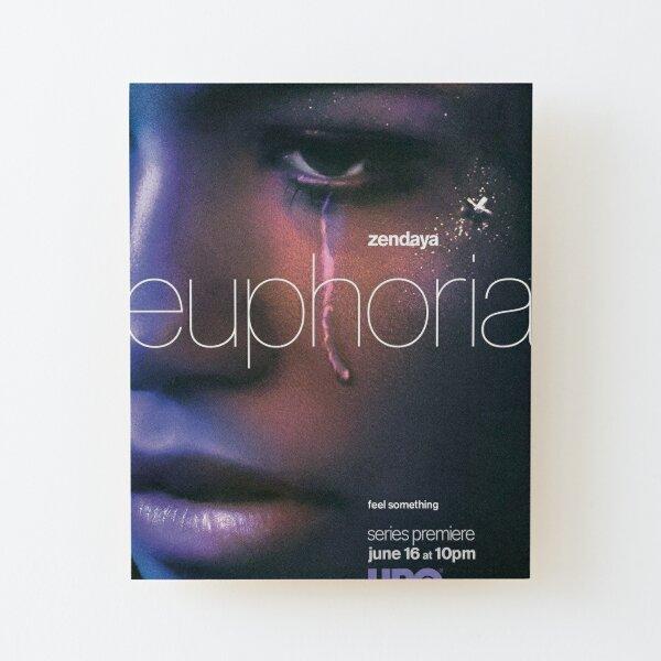 euphoria serie Impression montée sur bois