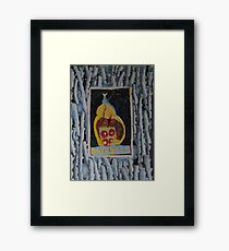 Doughnuts - Abstract Outsider Art Framed Print