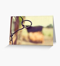 Cows are amongst the gentlest of breathing creatures Greeting Card