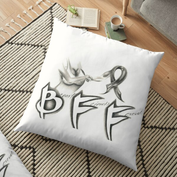 052. Breast Friends Forever 2 Floor Pillow