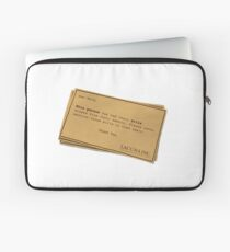 You can forget the bills Laptop Sleeve