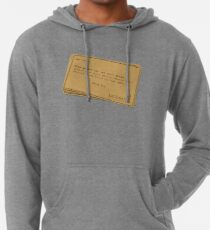 You can forget the bills Lightweight Hoodie