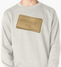 You can forget 2019 Pullover Sweatshirt