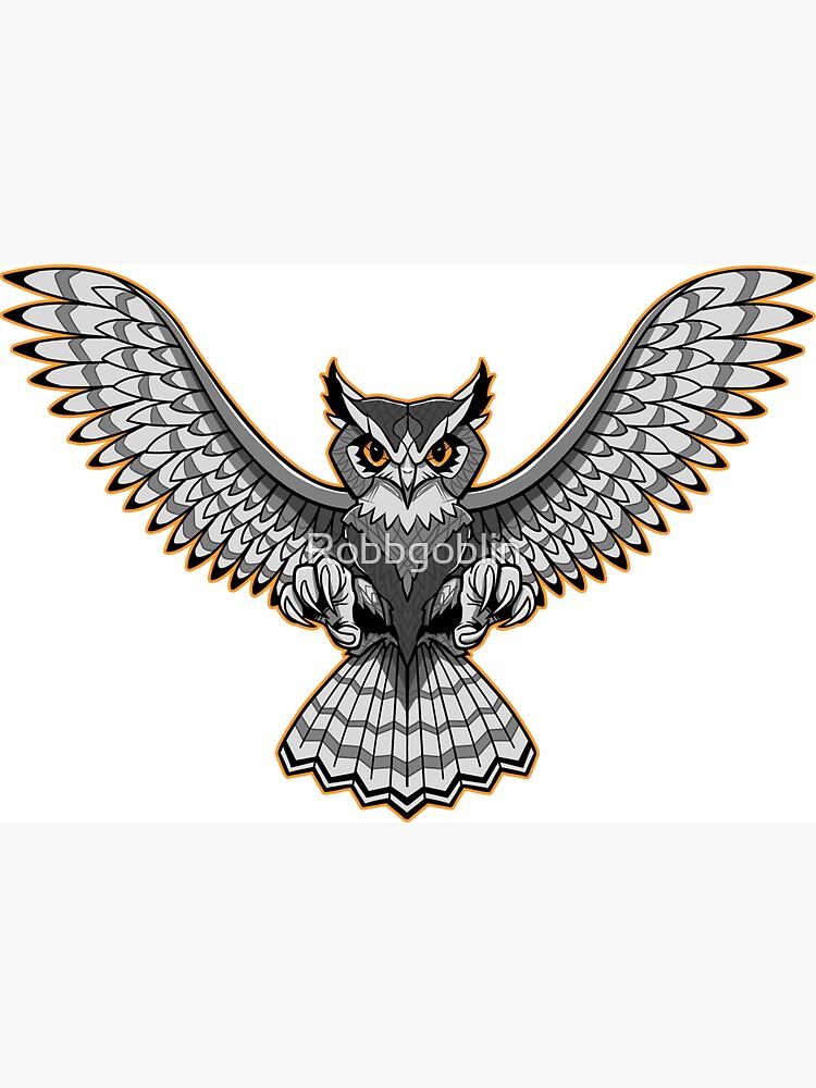Owl Tattoo by Robbgoblin