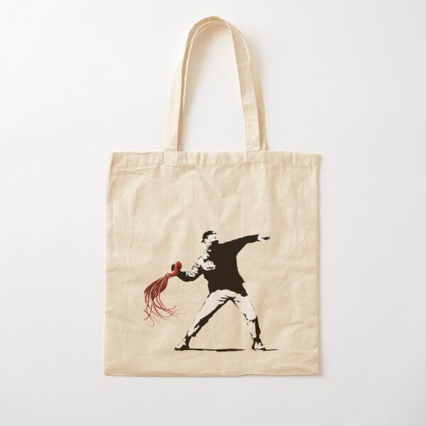 Rage, the Octopus Thrower Cotton Tote Bag