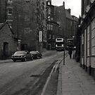 Candlemaker Row, Edinburgh. by Mandy Kerr