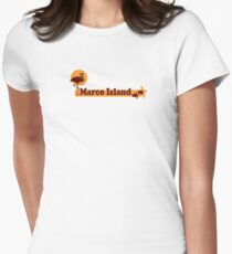 Marco Island - Florida. Women's Fitted T-Shirt