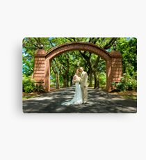 Laura and Wally Canvas Print