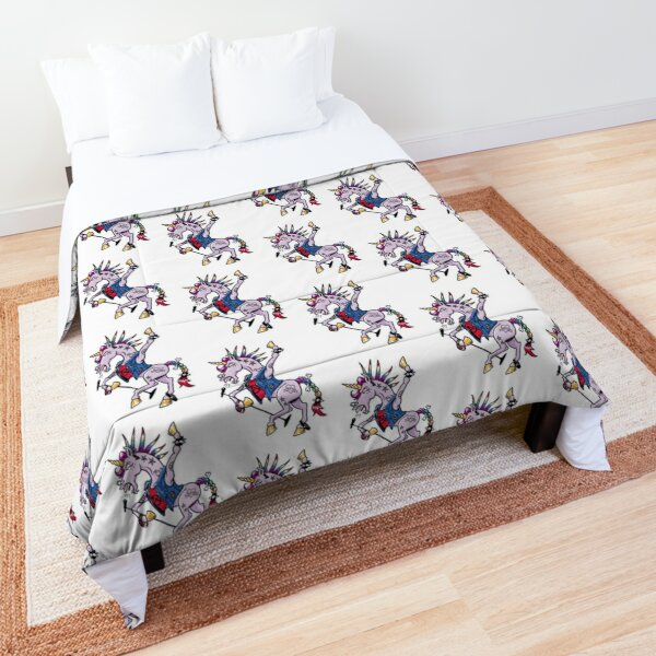 PUNK Unicorn Comforter