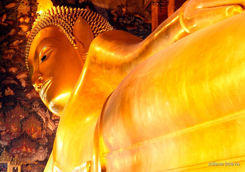 lying buddha by milena boeva