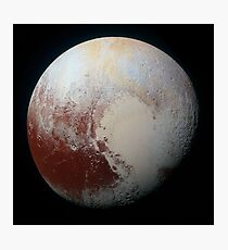 PLUTO - New hi-res image from NEW HORIZONS spacecraft Photographic Print
