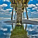 Jacksonville Beach Pier by Joe Hickson