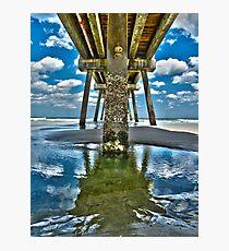 Jacksonville Beach Pier Photographic Print