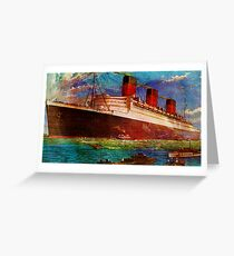 QUEEN MARY 1 Greeting Card