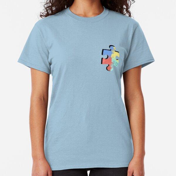 Autism Puzzle Piece Classic T-Shirt