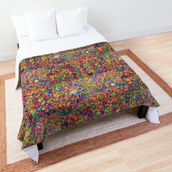 Color - Stream of Consciousness Series Comforter