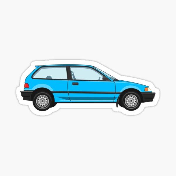 Honda Civic Base Model Sticker