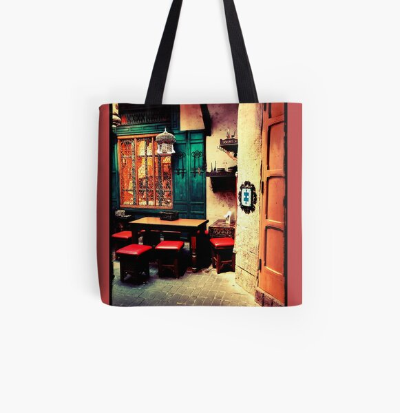 Moroccan style  All Over Print Tote Bag