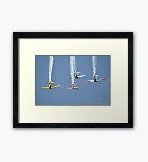 Southern Knights Harvards @ Temora Airshow, Australia 2013 Framed Print