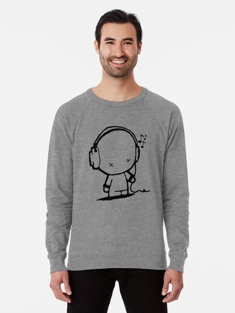 Alternate view of Music Man Lightweight Sweatshirt