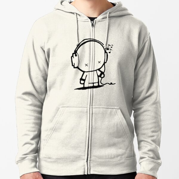 Music Man Zipped Hoodie