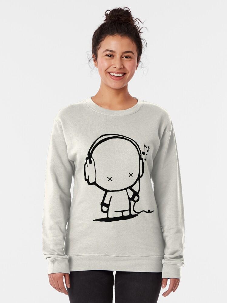 Alternate view of Music Man Pullover Sweatshirt